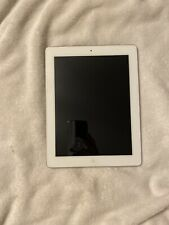 Apple iPad (4th Gen) A1459 9.7in 16GB Very Good cond White AT&T Wi-Fi+Cellular!