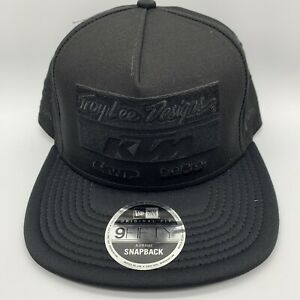 Troy lee Designs KTM 9Fifty New Era Hat Snapback Redbull Monster