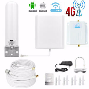 AT&T T-Mobile Sprint GSM 1900MHz Band 2 Cell Phone Signal Booster Amplifier Home