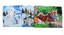 Business & Industrie Spielzeug & Modellbau (Posten) Puzzles Puzzle Tiere 42x28 cm je 108 tlg Tiere Meer Wasser Bunt Mitgebsel