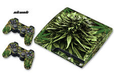 Skin Decal Wrap For PS3 Slim PlayStation 3  Console + Controller Skunk Bud