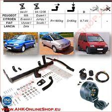 Gancio traino fisso Fiat Ulysse 94-01 / Scudo 94/06 + kit elettrico 7-poli