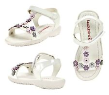 f7f48be86e63b Ladybird Karrie Infant White Sandals - Infant  Baby Size  5