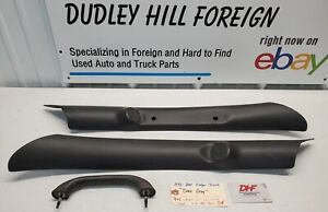 98-01 DODGE RAM 1500 PILLAR TRIM MOULDINGS DRIVER & PASSENGER W/ HANDLE AGATE!!!