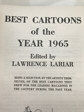 BEST CARTOONS 1965, 1ST. ED. VINTAGE HARDCOVER BOOK