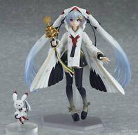 Max Factory figma EX-045 Snow Miku 2018 Crane Priestess Ver. Action Figure GSC
