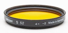 heliopan Filter s 52mm 52 mm 4x -2 orange
