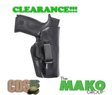 FRONTLINE BLACK RIGHT INSIDE WAISTBAND IWB LEATHER HOLSTER WALTHER PPX FL3267-BK
