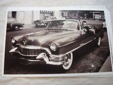 1954 ? CADILLAC CONVERTIBLE HUGH HEFFNER IN CAR  11 X 17  PHOTO  PICTURE