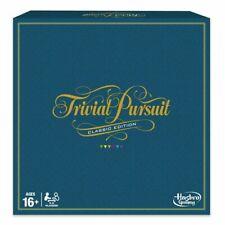 Hasbro Trivial Pursuit Classic Edition Board Game - C1940