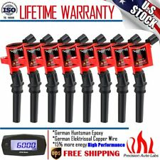8 Pack Ignition Coils For Ford Lincoln Mercury 4.6L 5.4L V8 DG508 F150 F250 F350
