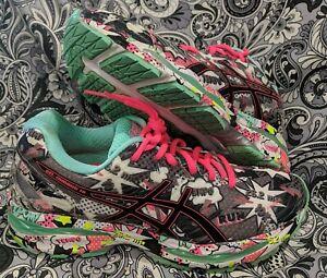 Womens Asics Gel-Nimbus 18 Sz 10 Running Shoes COMIC LIMITED EDITION RARE T6K9N