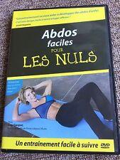 """DVD FITNESS BIEN-ÊTRE FORME """"LES ABDOS POUR LES NULS"""", POUR ENTRETIEN PHYSIQUE"""