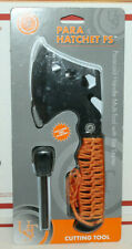 Ust Para Hatchet Fs w Orange Paracord Chop, Hack, and More Camping Axe, Outdoors