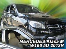 2 Deflettori Aria Antiturbo Mercedes-Benz GL/GLS/M X166 2013 in poi 5 porte