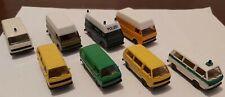 Herpa 1:87 HO Volkswagen VW LT Vans x4 & VW Buses x4