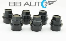 2001-2005 CHEVROLET TAHOE Z71 6 NEW BLACK SCREW ON LUG NUT COVERS CAPS