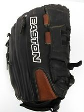 "EASTON RED LINE LEATHER BASEBALL GLOVE 12"" RH THROWER OIL TANNED"