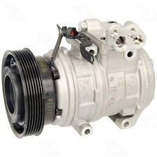 A/C Compressor with Clutch Four Seasons For Hyundai Tucson Kia Sportage 2.7L
