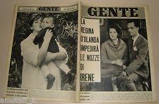 GENTE 1964/17=RENZO GIOVAMPIETRO=GIUSEPPE BERTO=BARBRA STREISAND=PETER SELLERS=