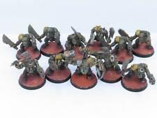 Ork Boyz X 11-Pintado Slugga chicos malos lunas Warhammer 40K Orks Ejército d3c