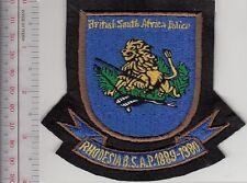Police Rhodesia British South Africa Police 1889 1980 Southern Rhodesia Blazer P