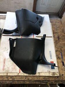 89-94 Nissan 240 SX 240SX S13 Left / Right Kick Panels Gray Pair