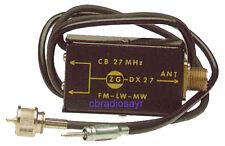 Zetagi CB/FM DX27 Antenna Splitter Box for CB Radios