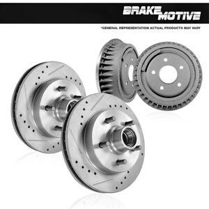 Rear Disc Brake Rotors Pair For Ford Ranger Mazda B2300 B4000
