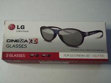 LG CINEMA 3D GLASSES - 2 PACK (= 2 pairs per box) - AG-F310 -- Brand NEW in box.