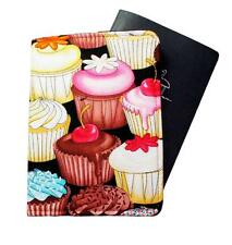 PASSPORT COVER/FOLDER/WALLET - CUPCAKES #3 hand crafted by Graggie Australia*GA