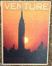 VENTURE THE TRAVELER'S WORLD MAGAZINE, BEIRUT, LEBANON, AIRSTREAM, AUGUST 1964