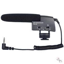 Sennheiser MKE 400 Small Shotgun Camera Shoe Mount DSLR Microphone Mic MKE400