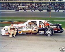 DAVEY ALLISON 1991 FORD HAVOLINE #28 DAYTONA NASCAR AUTO RACING 8X10 PHOTO