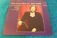 How Great Thou Art Kate Smith LSP 3445 LP 1965