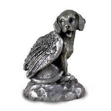Pewter BEAGLE Winged Angel Dog Figurine Set - Lot of 12