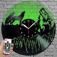Details about  /LED Vinyl Clock Batman LED Wall Decor Art Clock Original Gift 206