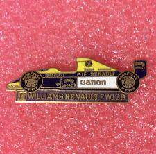 Pins Voiture F1 WILLIAMS RENAULT FW13B Formule 1
