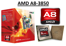 AMD A8-3850 Quad Core ''Llano'' Processor 2.9 GHz, FM1, 100W CPU