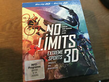 No Limits - Extreme Sports 3D [3 BLU RAY] Mountain Bike BMX Wingsuits Surfing