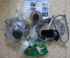 ISRAEL 2008 NEW PROTECTIVE HOOD KIT WITH BLOWER large size GAS MASK