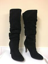 Ladies FAITH Suede Leather Boots Size 3