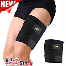 Yosoo Thigh Wrap Compression Support Sleeve Brace Groin Quad Leg Injury Pain US