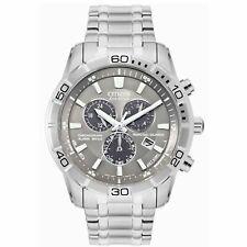 Citizen BL5450-54H Men's Perpetual Grey Eco-Drive Watch