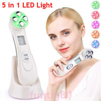 5 In 1 LED Light RF EMS Photon Therapy Face Skin Therapy Wrinkle Beauty Device