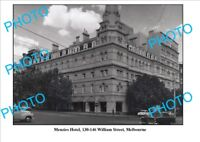 LARGE PHOTO OF OLD MENZIES HOTEL MELBOURNE VICTORIA