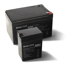 12V AGM Gel Batterie BleiAkku Notstrom Solarakku Alarmanlage USV 1Ah bis zu 84Ah
