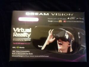TZUMI DREAM VISION Virtual Reality Smartphone Headset NEW IN BOX PURPLE