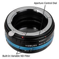 FotodioX Vizelex Pro ND Throttle Lens Adapter Nikon F-Mount to Sony E body
