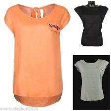 Festliche Kurzarm Damenblusen, - Tops & -Shirts in Größe M